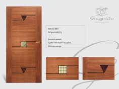 handmade wooden door_code: Kiev / by Georgiadis furnitures #handmade #wooden #door #marqueterie