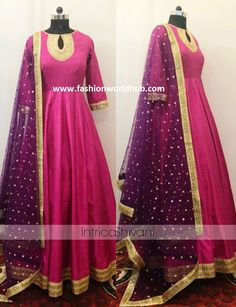 Gorgeous Anarkali designs by Intricado | Fashionworldhub