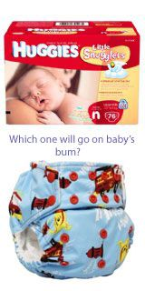 Considering Using Cloth Diapers? It Doesn't Have to Be Exclusive... - Cloth Diaper Addicts
