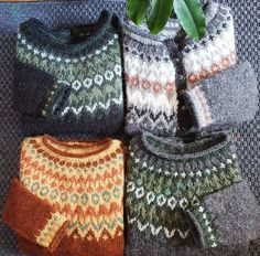 Knitting Designs, Knitting Patterns, Icelandic Sweaters, Fair Isle Knitting, Textiles, Pulls, Pretty Outfits, Needlework, Knitwear