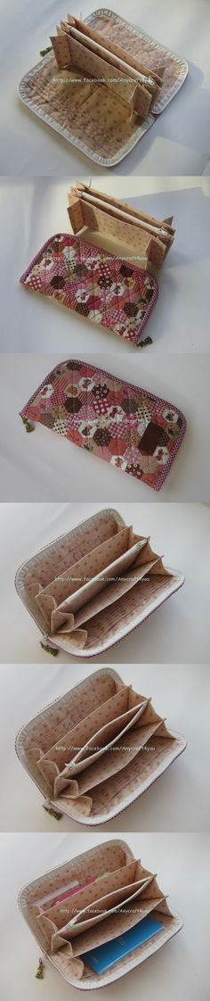 Chokie Pink Long Wallet