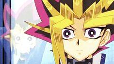 "Yami: ""Oh, right… um… (winks at Yugi) Little help here?"" Zap. Yugi: ""Oh, that's really mature, Pharaoh!"""