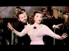 """Great on screen couples - Mickey Rooney and Judy Garland, were in a total of ten feature films together. This video is Mickey and Judy's last movie together, Words and Music 1948, singing, """"I Wish We Were in Love Again."""""""
