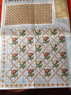Russian Cross Stitch, Dmc Cross Stitch, Cross Stitch Pillow, Cross Stitch Borders, Cross Stitch Patterns, Hand Embroidery Design Patterns, Basic Embroidery Stitches, Simple Embroidery, Cross Stitch Embroidery