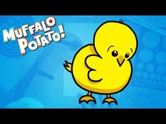 ▶ How to Draw A CHICKY Using Letters and Numbers with Muffalo Potato - YouTube