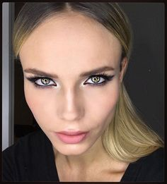 Natasha Poly Oscar Make Up #NPolyMakeUp For The @vanityfair Oscars Night #Oscars2016 #lorealista #worthit  To Create That Look I Use @lorealmakeup : Eyeshadows LA PALETTE OMBREE, For Eyebrows BROW ARTIST, Eyeliner SUPER LINER SUPERSTAR, Mascara FAUX CILS SUPERSTAR, Blush BLUSH SCULPT, Lipstick COLOR RICHE #630 BEIGE A NU
