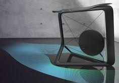 Vela, The Bike That Looks Like Art, by Lunar Design