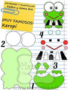 Plantillas personajes dibujos Hello Kitty Sanrio