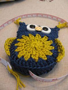 Ravelry: Crochet owl tape measure pattern by Atelier Myne