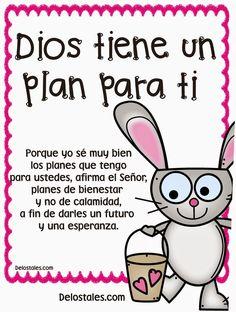 α JESUS NUESTRO SALVADOR Ω: Dios tiene un plan para tí, para tu bienestar, par...