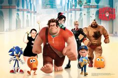 Me with the gang of Wreck-It Ralph the the Press Junket! #Disney #WreckitRalph!