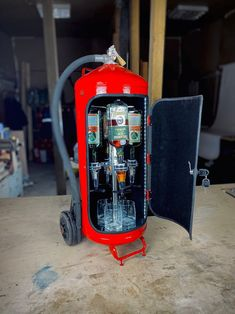 Jerry Can, Firefighter Gifts, Fire Extinguisher, Great Gifts, Alcohol, Carpet, Mini, Airmail, Canada