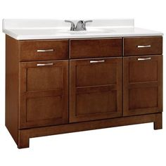 Plain White Vanity From Rona Will Spice It Up With A