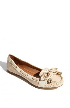 jeffrey campbell fashions pics | Jeffrey Campbell Portal Loafer Womens Nude Beige Patent Combo Loafers ...