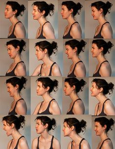 expressions in profile