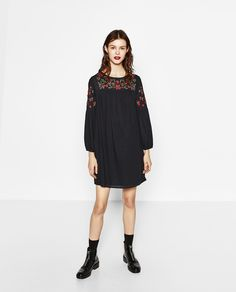 EMBROIDERED DRESS BY ZARA