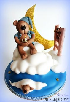 Teddy bear cake  -- https://www.facebook.com/pages/Pams-Cake-Creations/388718604539613?ref=hl