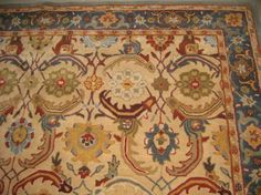 Pottery Barn Eva Persian Style Wool Tufted 8x10 Rug Our Current Dining Room