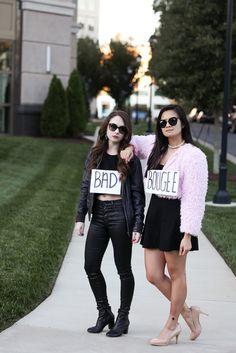 Halloween costume idea | Bad and Boujee Costume Idea | Last Minute Halloween costume | DIY Costume idea | Partner costume | best friend costume | easy costume idea