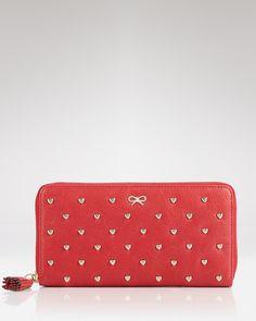 Anya Hindmarch wallet. Please.