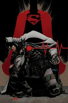 """Dark Knight III: The Master Race #1\"" variant cover"