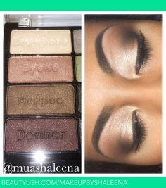 soft brown eyeshadow | ShaLeena B.'s (makeupbyshaleena) Photo | Beautylish