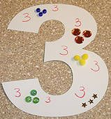 Numbers Collage Craft - Would be a fun activity for a class to do together, assign a number to each student or a pair, then hang up in the classroom when they're done.