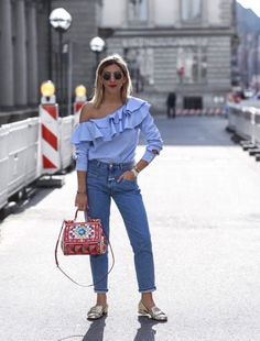 Street-wear High Quality Irregular Off-the-shoulder Sexy Festival Costume Blouse Ruffles Skew Collar Top Summer Shirt  Street-wear Irregular Off-. Shoulder Off, Streetwear, Make Up Studio, Hijab Fashion, Fashion Outfits, Stylish Summer Outfits, Skirt And Top Set, Festival Costumes, Saree Dress