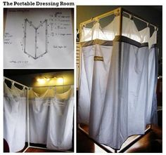 How To Build A Portable Changing Room Room Dressing