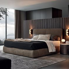 Easy And Cheap Tricks: Chic Minimalist Bedroom Ceilings minimalist home inspiration modern kitchens.Minimalist Interior Bathroom Inspiration minimalist bedroom inspiration home decor.Minimalist Interior Home Life. Modern Bedroom Design, Master Bedroom Design, Contemporary Bedroom, Home Decor Bedroom, Modern Interior Design, Bedroom Designs, Modern Contemporary, Bedroom Ideas, Bedroom Furniture
