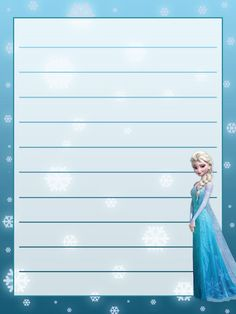 Journal Card - Frozen - Elsa - Snowflakes - lines - 3x4 photo: A little 3x4inch journal card to brighten up your holiday scrapbook! Click on options - download to get the full size image (900x1200px). Clipart belongs to Disney. ~~~~~~~~~~~~~~~~~~~~~~~~~~~~~~~~~ This card is **Personal use only - NOT for sale/resale/profit** If you wish to use this on a blog/webpage please include credits AND link back to here. Thanks and enjoy!! This photo was uploaded by pixiesprite