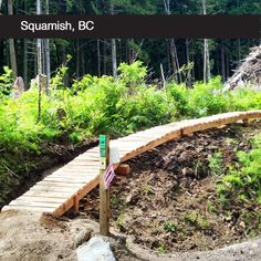 """What we'd do with $10K: Rebuild the iconic """"Corners"""" trail, which was recently devastated by industrial activity, as an intermediate flow trail similar to Half Nelson and Pseudotsuga."""