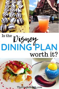 Should you get the Disney Dining Plan for your Disney vacation? Learn how to decide is the Disney dining plan worth it. The Disney World Dining Plans are great for some but not for everyone. Disney World on a budget and Disney World tips and tricks. #disneydiningplan