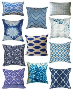 Love this. I want to do a mix of patterns for the recover of our couch throw pillows.