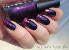 Autumn colours on nails, Kiko 497, Sally Hansen Lady Luck