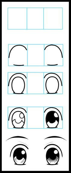 How to Draw Anime Eyes 1 by ~LeQueen: