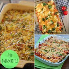 Ons vorige overzicht met 10 ovenschotel recepten was zo'n groot succes en daarom hebben we een nieuw overzicht gemaakt met onze favoriete ovenschotels! Dus kijk en geniet mee!  Onze populairste ovensc