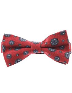 FLATSEVEN Mens Pre-Tied Casual Flower Pattern Bow Tie (YB013) Red FLATSEVEN http://www.amazon.com/dp/B00LAZF1YY/ref=cm_sw_r_pi_dp_p.mlub0Y3D5KF