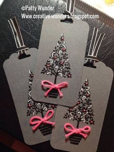 Festival Of Trees Stamp set Patty Wunder SU Demonstrator  Stampin' Up!