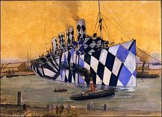 Ghosts Of The Great Highway: Dazzle Camouflage.
