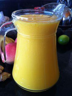 MangOlicious Fruit Smoothie - http://www.youngandraw.com/2011/10/18/mangolicious-smoothie/