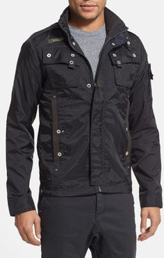 G-star Raw Black Recolite Light Weight Military Jacket
