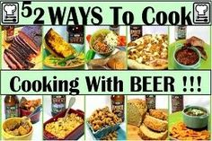 I don't drink beer, but I do love food cooked with beer! Inspired By eRecipeCards: 52 Cooking With Beer Recipes Breakfast Snacks, Breakfast Items, Breakfast Dishes, Best Breakfast, Breakfast Recipes, Breakfast Casserole, Beer Recipes, Cooking Recipes, Copycat Recipes