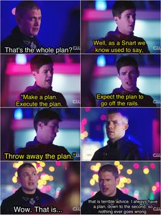 This was hilarious Also, did anyone else think of Prison Break when he said he has a plan down to the second