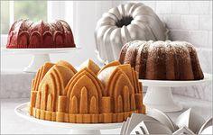 Obsessed with Nordic Ware cake pans