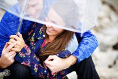Rainy Day Engagement Session Ideas | Des Moines, IA | See more Engagement Session Ideas here http://www.oneone.co/blog/engagement-session-favorites-of-2013