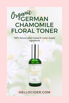 The best natural face toner for sensitive skin. Our all natural chamomile face toner is perfect for clean and clear skin. It gentle and safe to use for oily skin, for sensitive skin. Natural face toner for dry skin. Skincare routine for rosacea | natural remedies for rosacea | chamomile toner Natural Face Toner, Toner For Face, All Natural Skin Care, Natural Remedies For Rosacea, Rosacea Remedies, Oily Skin, Sensitive Skin, Chamomile Tea Benefits, Essential Oil Distiller