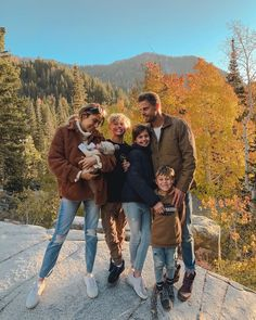 Got out of the house and went up to the mountains to soak up beautiful Utah and all the fall leaves! Getting out of the house takes about… We Are Family, The Fam, Family Life, Life Goals Future, Hello Fashion Blog, Christine Andrew, Baby Time, Family Goals, Beautiful Family