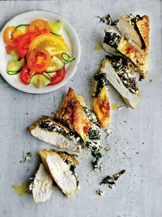 Chicken and feta calcium-booster recipe from The Medicinal Chef: Healthy Every Day by Dale Pinnock Gluten Free Kitchen, Dale Pinnock, Just Cooking, Evening Meals, Healthy Recipes, Healthy Dinners, Feta, Food To Make, Chicken Recipes