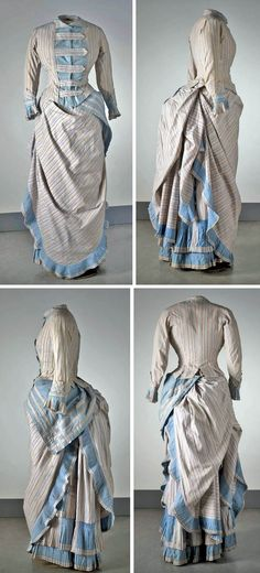 Day dress, no date. Nordic Museum, Sweden.